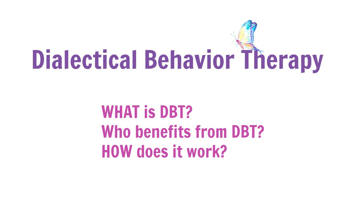 dialectical behavior therapy dbt Dialectical behavior therapy (dbt) is a comprehensive cognitive behavioral treatment it aims to treat people who see little or no improvement with other therapy models this treatment focuses on.